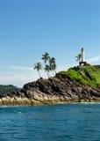 Tropical island, Sri Lanka Royalty Free Stock Photography