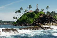 Tropical island, Sri Lanka Royalty Free Stock Photo