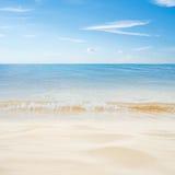 Tropical island summer beach Stock Image