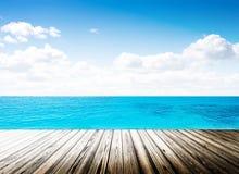 Tropical island summer beach Royalty Free Stock Photo