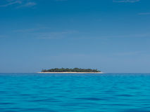 Tropical Island In The Sun Royalty Free Stock Photos