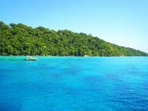 Tropical Island at thailand Stock Photos
