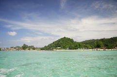 Tropical island in Thailand Royalty Free Stock Image