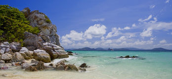Tropical island in Thailand. View of tropical islands in Thailand, Asia royalty free stock photography