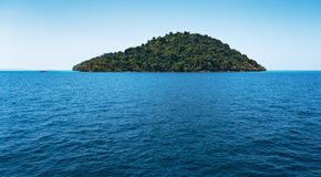 Tropical island in Thailand Royalty Free Stock Photos