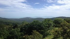 Tropical island timelapse. Tropical island in Thailand hills timelapse stock footage