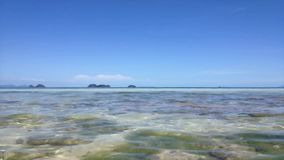 Tropical island timelapse. Tropical island in Thailand sea timelapse stock video