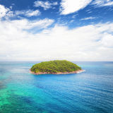 Tropical island travel nature landscape Royalty Free Stock Photos