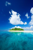 Tropical island vacation paradise Stock Image