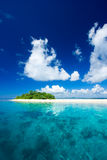 Tropical island vacation paradise Royalty Free Stock Photo