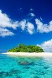 Tropical island vacation paradise Royalty Free Stock Photo