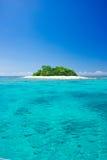 Tropical island vacation paradise stock photos