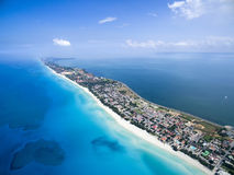 Tropical island of Varadero Stock Image