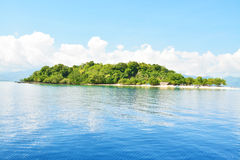 Tropical island with white background. Tropical island with white background (Asia Stock Photos