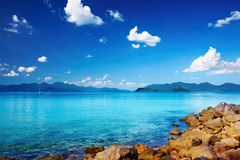 Tropical islands Stock Images