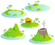 Tropical islands Royalty Free Stock Photo