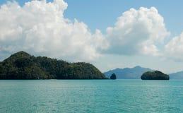 Tropical islands. Near Malaysia / Asia Royalty Free Stock Photography