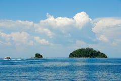 Tropical islands. Near Malaysia / Asia Royalty Free Stock Photo