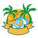 Tropical islands Royalty Free Stock Image