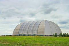 Tropical Islands. Big hangar for tropical tourist resort stock photos