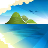 Tropical islands dreams Royalty Free Stock Photo