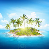 Tropical islands stock photo