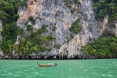 Tropical islands and lagoons near to Phuket Royalty Free Stock Images