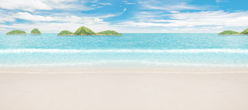 Tropical islands in ocean Royalty Free Stock Photos