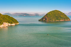Tropical islands in sea. Kho NomSwaw island, Gulf Of Thailand Stock Photography