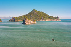 Tropical islands in sea. Kho NomSwaw island,Thailand Stock Photo