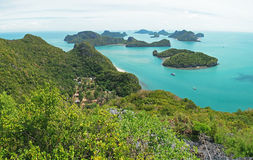 Tropical islands in Thailand Royalty Free Stock Photography