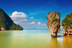 Tropical islands, Thailand Royalty Free Stock Images