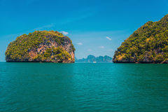Tropical islands in thailand Royalty Free Stock Image