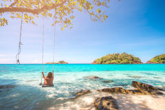 Tropical islands, Trat archipelago, Thailand summer season Stock Images