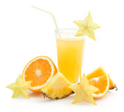 Tropical juice Royalty Free Stock Photos