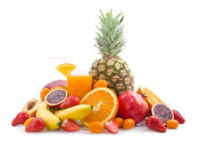 Tropical juice Royalty Free Stock Photo