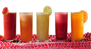 Tropical juice. Royalty Free Stock Photos
