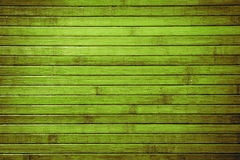 Tropical jungle background. Horizontal planked green bamboo tropical background. Obsolete texture Stock Photography