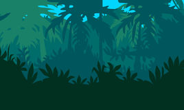Tropical jungle Royalty Free Stock Photography