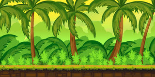 Free Tropical Jungles Landscape For UI Game Stock Image - 74147411