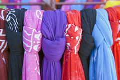 Tropical Knotted Fabrics Stock Images