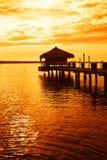 Tropical lake Royalty Free Stock Photos