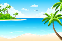 Tropical landscape Stock Image