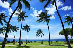 Tropical landscape Stock Photography