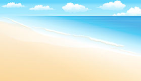 Tropical Landscape Beach Royalty Free Stock Images