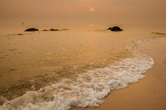 Tropical landscape of Hua Hin Royalty Free Stock Photography
