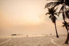 Tropical landscape of Hua Hin Royalty Free Stock Photos