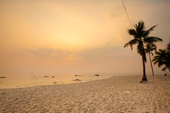 Tropical landscape of Hua Hin Royalty Free Stock Images