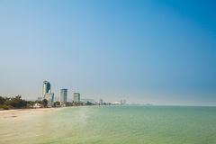 Tropical landscape of Hua Hin Stock Images