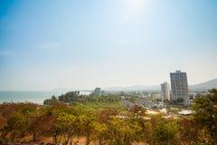 Tropical landscape of Hua Hin Royalty Free Stock Photo